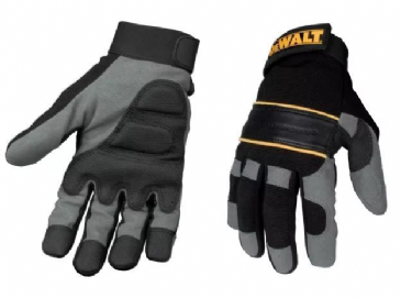 Dewalt Power Tool Gel Gloves DPG33 (Black / Grey)
